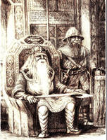 Balin, Lord of Moria by Tulikoura