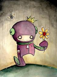 Otis the Squid boy by UMINGA