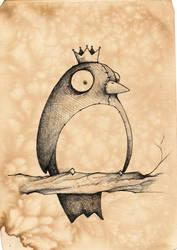 Dwight:the bird King by UMINGA