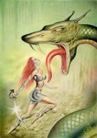 The Snake II by RezoKaishauri