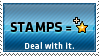 Stamps equals favs by KillboxGraphics