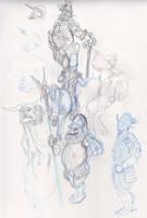 random sketch by SlavicWolf
