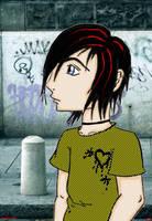 Walking Alone... by DarkGeisha22
