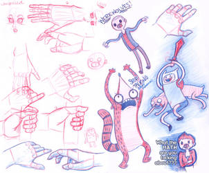 Doodle Page by Camatie