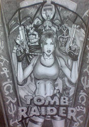 Tomb Raider remake (picture by Keifus) by JeanetteCroft
