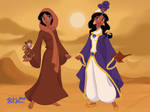 Aliyadin and Princess Aliya Ababwa by RedJoey1992