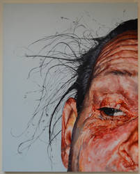 Perfect Imperfection - 152 x 96 - Oil on Canvas -  by DavidboothArt