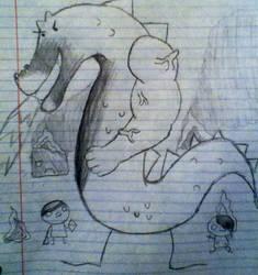 Trogdor the Burniniator by IcarusNocturne