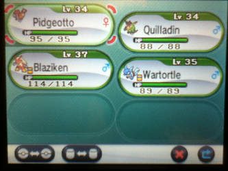 MY team so far.... by IcarusNocturne