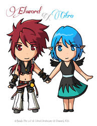 Elsword RS and Citro by Boudathecat