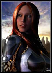 Firedust - Portrait by celticarchie