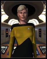 Lt Natasha Yar by celticarchie