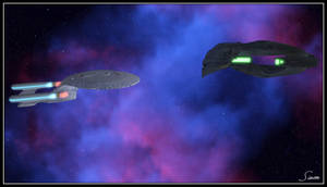 Romulan Negotiations, Act 1 by celticarchie