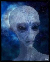 The Alien Grey by celticarchie