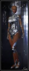 Robo-Sapien - Full Figure by celticarchie