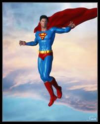 Superman - Alternate Cape by celticarchie