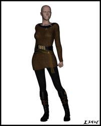 Klingon Female Uniform TEST by celticarchie