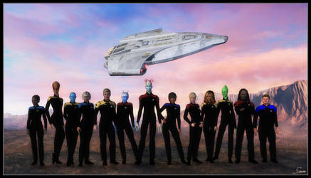 The Crew Of The U.S.S. Mongoose | NCC-972410 by celticarchie