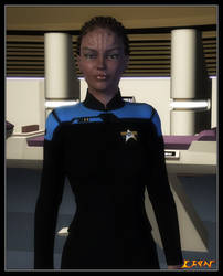 Lieutenant Ki'aria by celticarchie