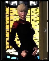 Lieutenant Tess Beal by celticarchie