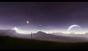 Hexian Ridge by BPauba