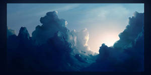 Clouds. Second study. by BPauba