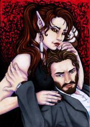 A Strange Couple by larkabella