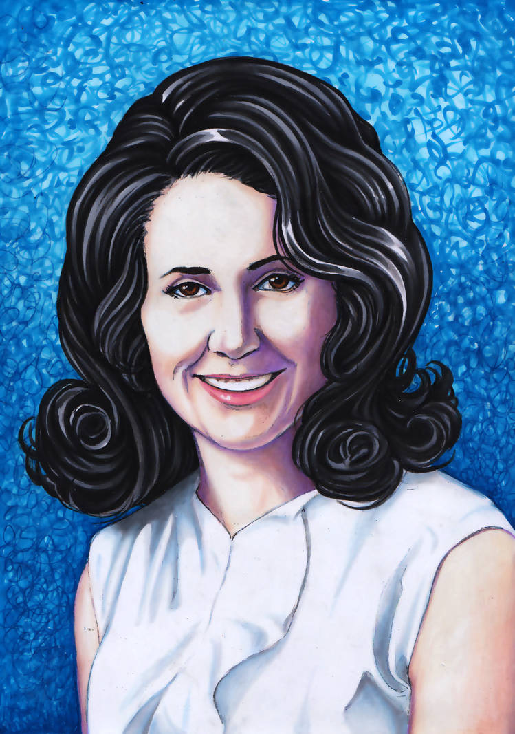 Carmelina Portrait - Commission by larkabella