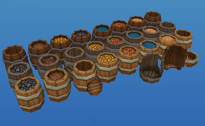 Barrels by Jimpaw