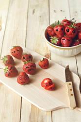 Strawberry's death by fotografka