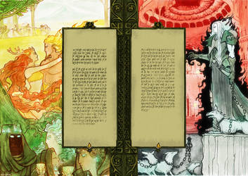 Silmarillion pages 03-04 by elencarnil