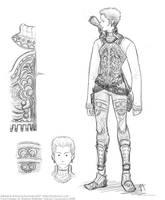 FFXII - Balthier sketch by lexaross