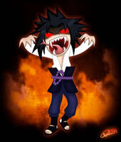Sasuke the Avenger by Patka91