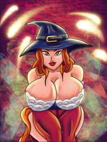 Sensational Sorceress 2 by Newtypemo