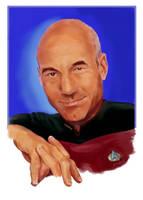 The humanist (Jean-Luc Picard - Star Trek TNG) by Dahkur