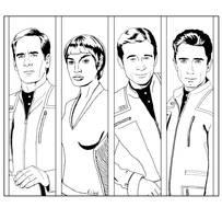 Enterprise - Senior Officers by Dahkur