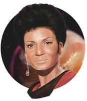 Lieutenant Uhura - TOS by Dahkur