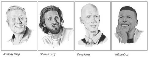 Discovery-Cast Portraits I by Dahkur