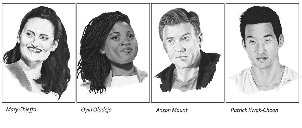Discovery-Cast Portraits III by Dahkur