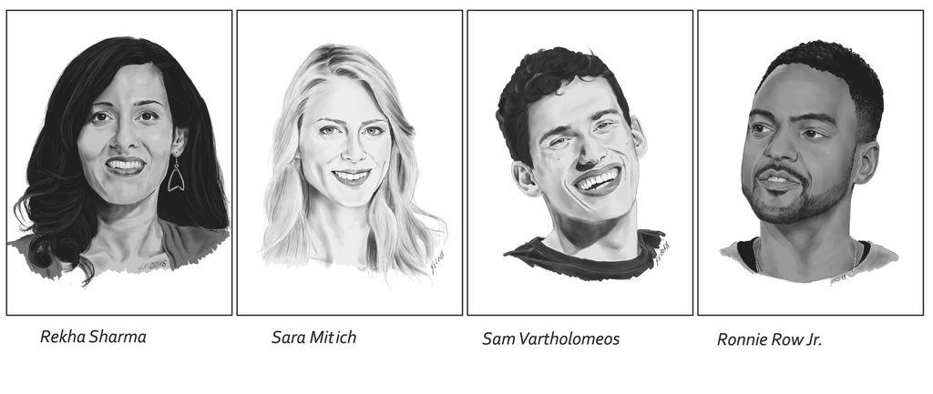 Discovery-Cast Portraits IV by Dahkur