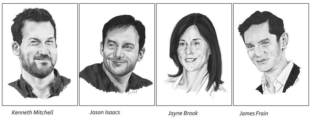 Discovery-Cast Portraits V by Dahkur