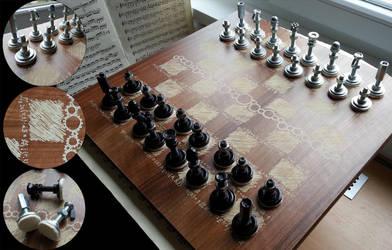 Steampunk Chess v2.0 by aequinox