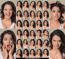 Stock:  Maria 30 Cute and Funny Expressions by ArtReferenceSource