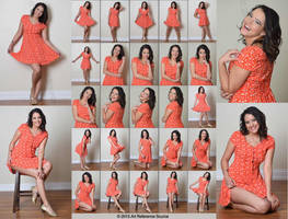 Stock:  Maria 25 Cute and Innocent Poses by ArtReferenceSource