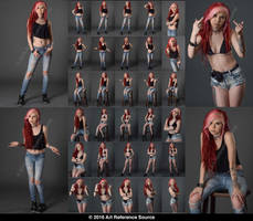Stock:  Alyx has an attitude 30 images by ArtReferenceSource