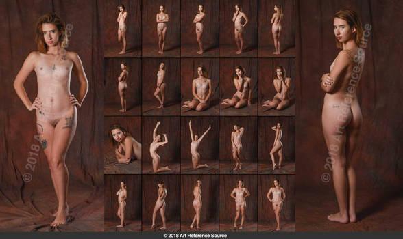 Stock:  Jaden 20 Elegant Nudes by ArtReferenceSource