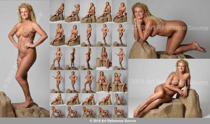 Stock:  New model Courtney T 30 fantasy nudes by ArtReferenceSource
