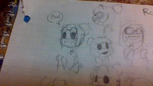 Ronan doodles by EmilyAzul