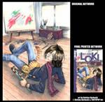 MY CAT LOKI v1- COVER by DreamworldStudio