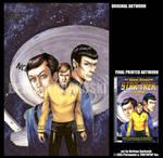 STAR TREK-TOS v1 - LE COVER by DreamworldStudio